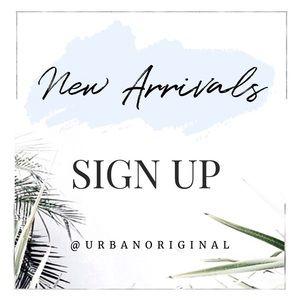 • NEW ARRIVALS •